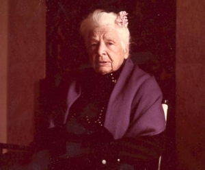 Dr Ida Rolf, founder of Rolfing.